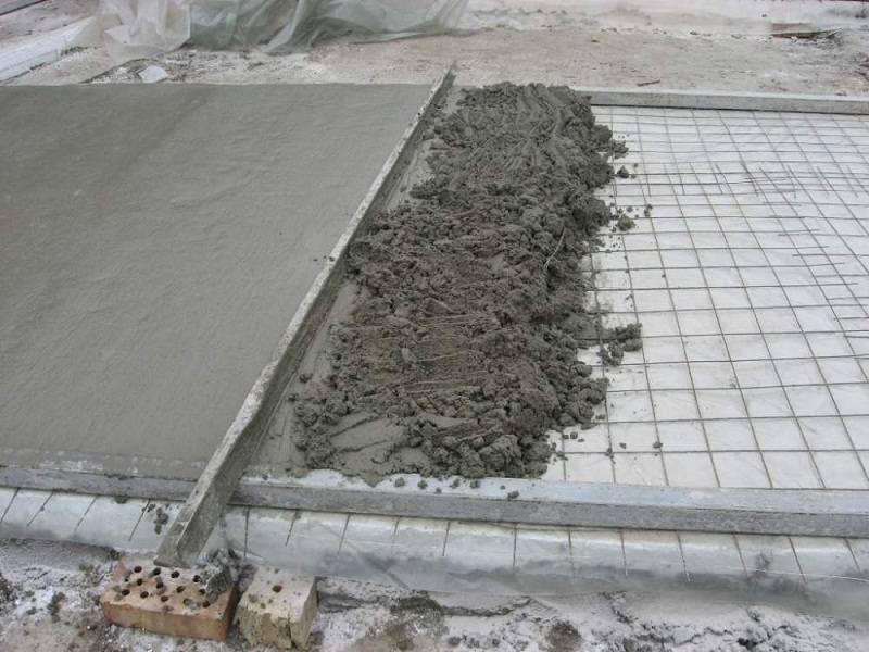 Поливаем бетон заменить бетон