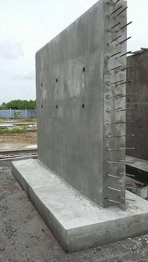 армирование стены из бетона