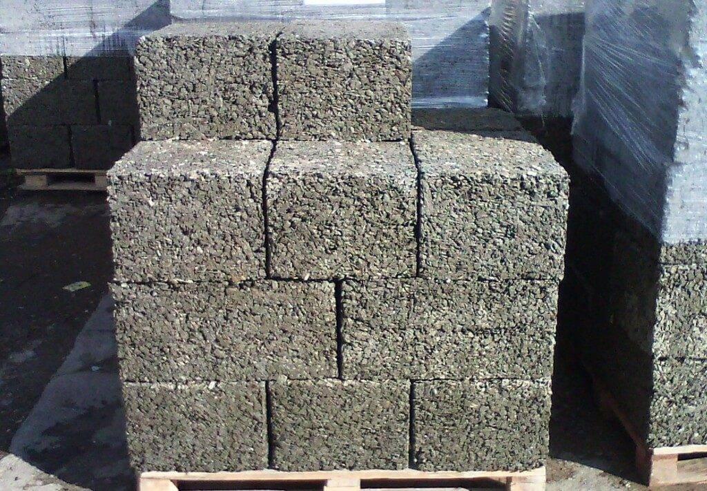 купить блок из опилок и цемента